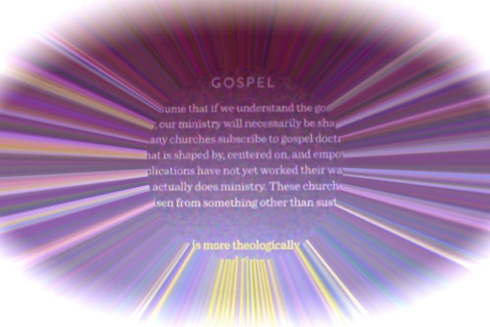 Gospel Theology